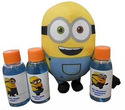 Minions Despicable me - Badset met spons - Giftset
