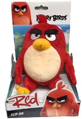 Angry Birds Sleutelhanger Red - Knuffel - 14 cm