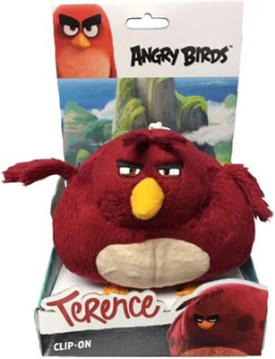 Angry Birds Sleutelhanger Terence - Knuffel - 14 cm