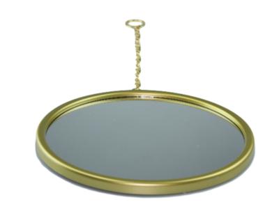 Hangspiegel Henri - Goud - Ø 23cm