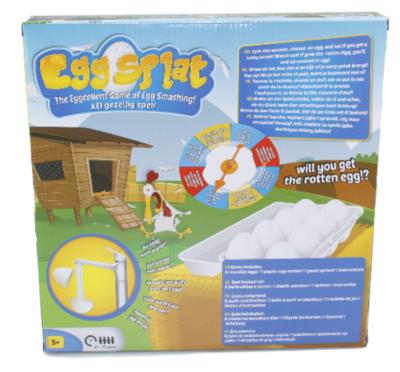 Ei Splet Spel - Egg Splat Game - Spletterende Eieren Spel - Familie Spel