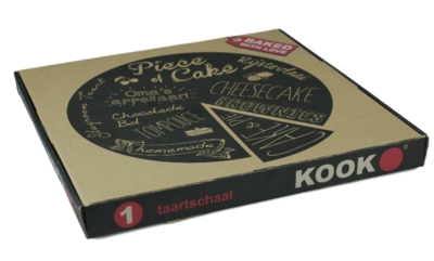 KOOK Taartbord - Baked with Love
