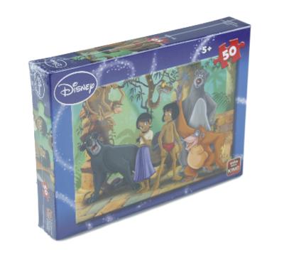King legpuzzel Disney Jungle Book - 50 stukjes - Kinderpuzzel