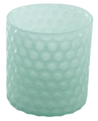 Windlicht Daniëlle - Groen - Glas - Ø11x11.5cm