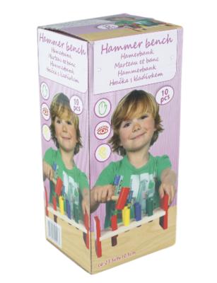 Houten hamerbank