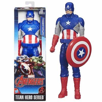Captain America - actie figuur - titan heros - Marvel - Avengers - 30 cm