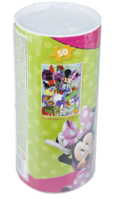 Disney Minnie Mouse - Puzzel in Koker - 50 stukjes - 31x22CM