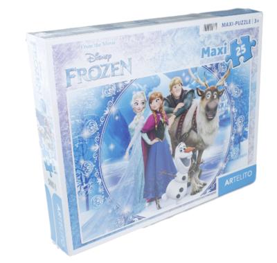 Disney Frozen - maxi puzzel - 24 stukjes - Else - Anna - Olaf