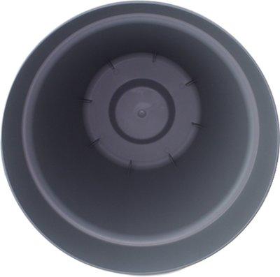 Bloempot JEROME (Maat L) - Grijs - Ø30 cm - 26.5 cm hoog - Rond