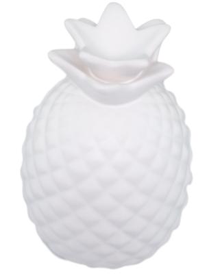 Deco witte ananas YVETTE - White Pineapple - Ø9 x H13.5cm