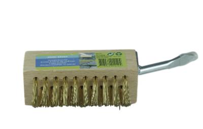 Voegenborstel Mark / onkruidborstel met scratcher zonder steel