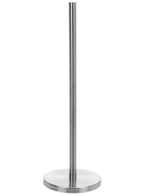 Toiletrolhouder met Verzwaarde Voet GERT - Zilver - 55 x 18 cm - RVS - Voor 5 Toiletrollen