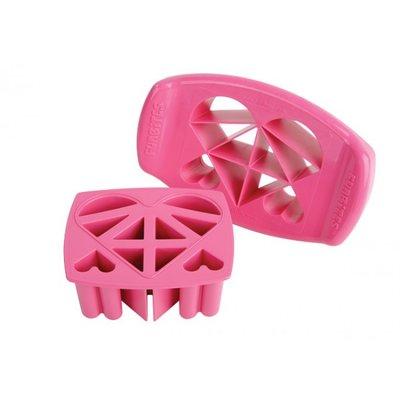 FunBites - Roze - Fruitsnijder - Kind - Hart stukjes