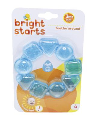 Bijtring Bright Starts - Teethe around - Blauw