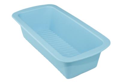 Cakevorm siliconen - Blauw - 27x14x7cm