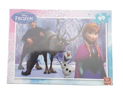Disney Frozen - Puzzel - 99 stukjes - Anna - Olaf