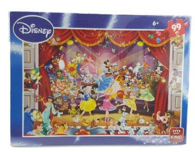 Disney Puzzel - Theater - Legpuzzel - 99 Stukjes