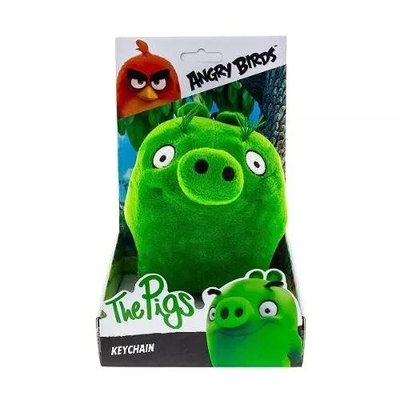 Angry Birds Sleutelhanger The Pigs - Knuffel - 14 cm