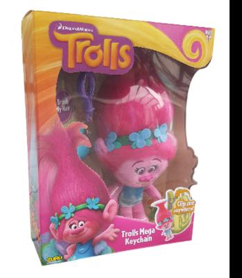 Trolls Poppy Sleutelhanger Knuffel - 22 cm