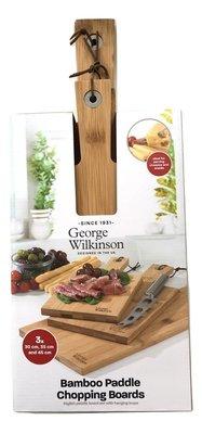 George Wilkinson Snijplanken - Set van 3 - Bamboe