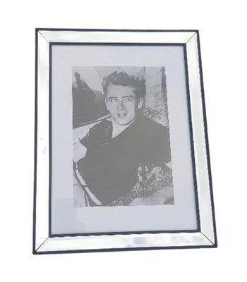 Ingelijste print James Dean - 46x36cm - Schilderij - spiegellijst - Pearl