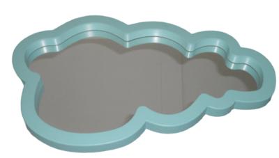 Spiegel MAYA - Wolk - Blauw - 40x24x2cm