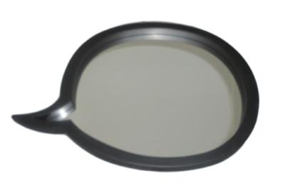 Zwarte Ronde Spiegel : Spiegels rofra home