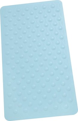 Rubberen Antislip Douchemat JORAN - Blauw -54 x 54 cm - Badmat