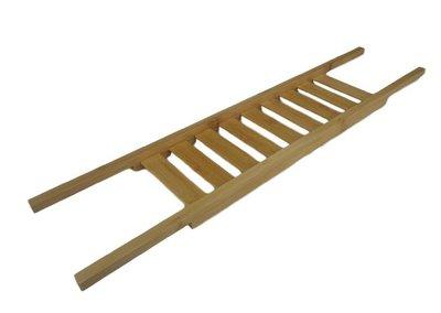 Badbrug - Bruin - Hout - 66.5 x 15 x 2.5 cm