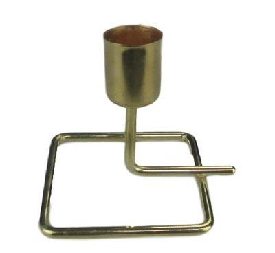 Kandelaar ERIC - Goud - Maat S - 9 x 7.5 x 7.5 cm
