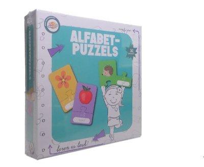 Alfabetpuzzels spel