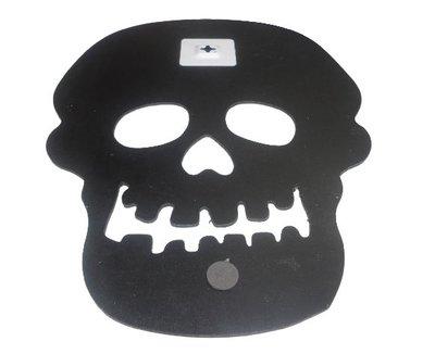 Wandkrijtbord GHOST FACE - Zwart - 31 x 42.5 cm