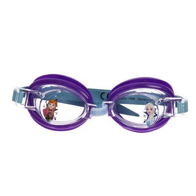 Disney Frozen kinder zwembril - Paars - Kunststof