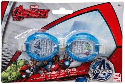 Marvel Avengers kinder zwembril - Blauw - Kunststof