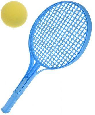 Tennisset - Blauw - Kunststof - 3-delig - 54 cm