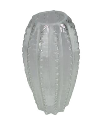 Cactus vaas WILHELM - Transparant - Glas - Ø12 x h25 cm