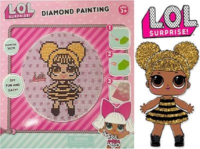 LOL Surprise diamond painting - Queen Bee