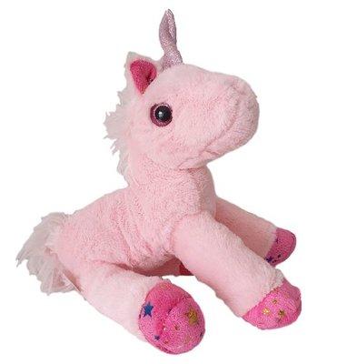 Knuffel Unicorn - Roze - 22 x 7 x 26 cm