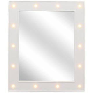 LED Spiegel JORIN - Wit - Metaal - 27 x 32 cm