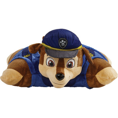 Paw Patrol Pillow Pet - Chase - Blauw - Polyester