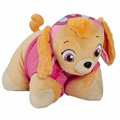 Paw Patrol Pillow Pet - Skye - Roze - Polyester