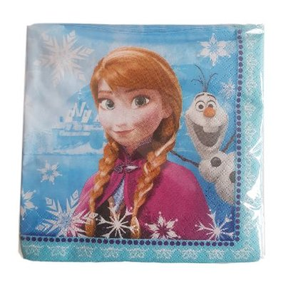 30 Disney Frozen servetten - 2 laags