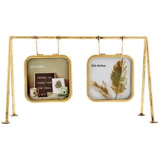 Hangende fotolijstje in frame BERHTA - Goud - 30 x 11 x 18 cm