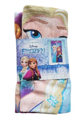 Disney Frozen strandlaken - Multicolor - 60 x 120 cm - Katoen