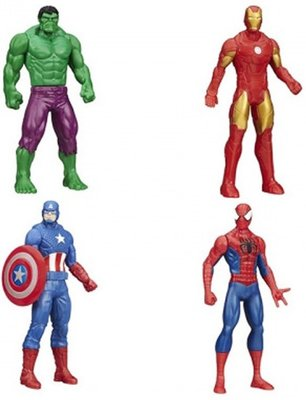 Iron man - actie figuur - Marvel - Avengers - 15 cm