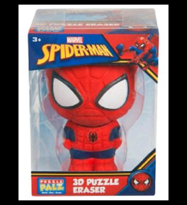 3D Spider-man puzzelgum - Rood / Blauw - 10 cm