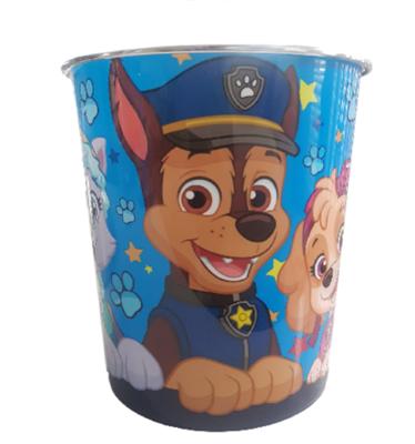 Kinder Prullenbak Paw Patrol - Multicolor - Ø 20,5 x 22 cm