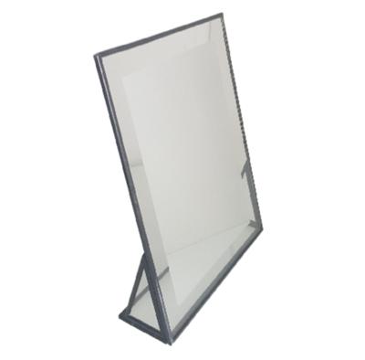Make-up spiegel NADINE - Zwart - Metaal / Glas - 17 x 4.5 x 21 cm
