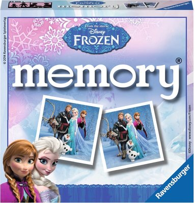 Disney Frozen Memo Spel - Karton