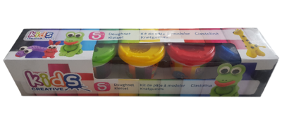 Klei Set Basis - Multicolor - 5-delig